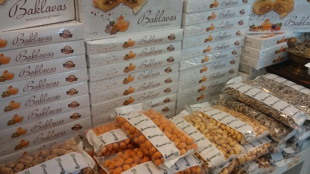 Řecké oříšky a baklavy z Kréty