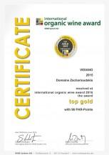 VIDIANO 2015 Bio bílé víno Vidiano 0,75 l
