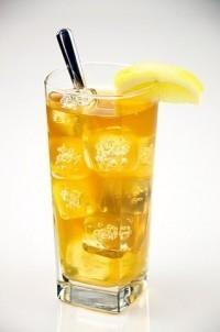 Krétský bylinkový ledový čaj
