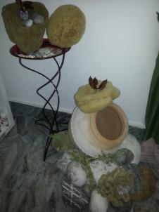 Přírodní mořská houba z Kréty v triaelia v Plzni