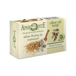 Olivové mýdlo s bambuckým máslem a ovesnými vločkami 100 g Aphrodite