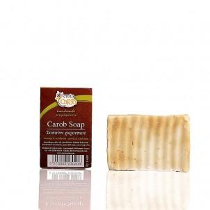 Karobové mýdlo s olivovým olejem