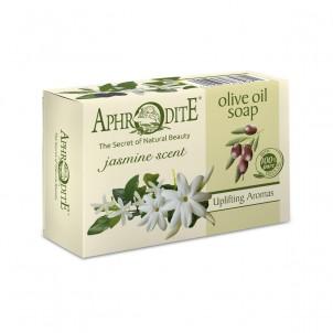 Olivové přírodní mýdlo s  jasmínem 100g