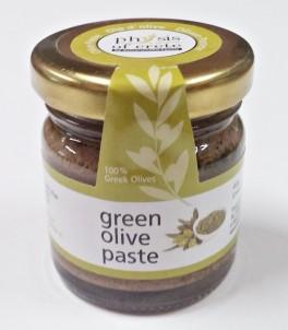 100% přírodní  olivová pasta ze zelených oliv