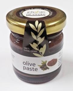 100% přírodní olivová pasta z černých oliv kalamata 40gr
