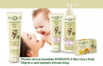 Dětská kosmetika pro kojence, miminka a děti