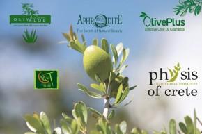 přírodní kosmetika a olivové oleje z Kréty