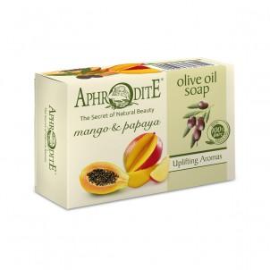 Olivové mýdlo s mangem a papayou 100 g