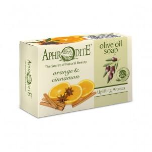 Olivové mýdlo s pomerančem a skořicí 100 g