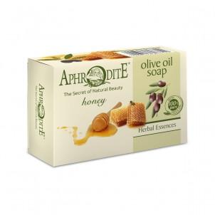 100% přírodní mýdlo olivový olej a med