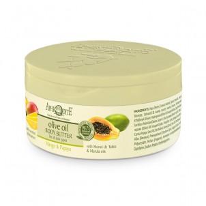 Tělové olivové máslo Mango & Papaya 200ml