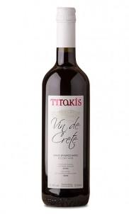 Vin De Crete Červené víno Suché 0,75 l