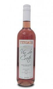 Vin De Crete Růžové víno Suché 0,75 l