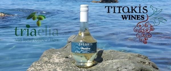 Řecká Retsina z Kréty