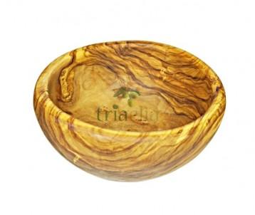 Miska na polévku z olivového dřeva
