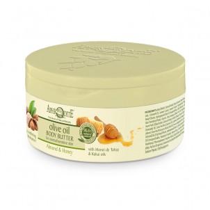 Tělové olivové máslo Mandle & Med 200ml