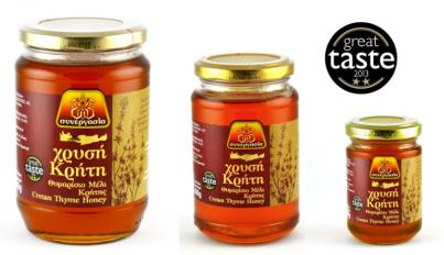 Řecký tymiánový med Golden Crete 200g