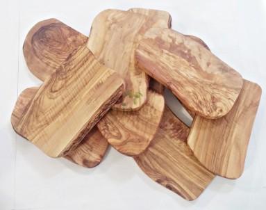 Prkénko na krájení z olivového dřeva obdélníkové