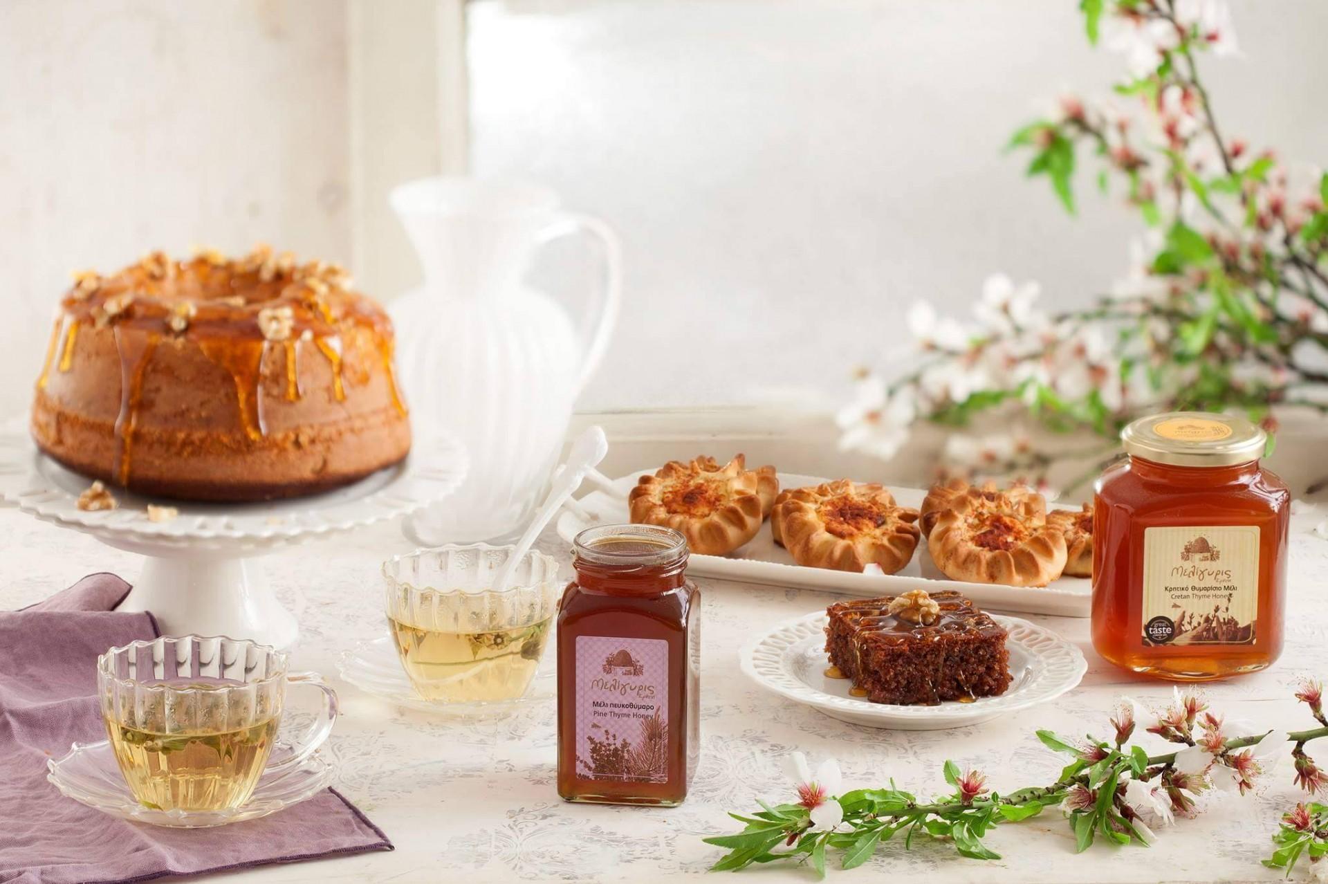Řecký tymiánový med z Kréty
