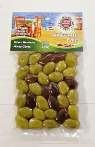 Mix řeckých oliv 250 g