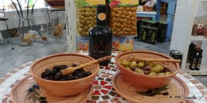 Řecké olivy z Kréty