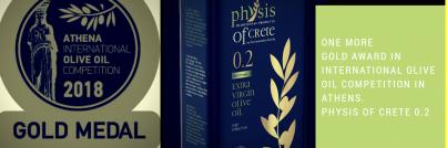 Olivový olej Zlatá medaile Atény 2018
