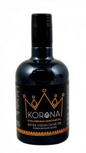 Exkluzivní olivový olej KORONA Acidita 0,2 sklo 0,5l