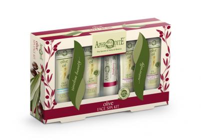 Dárkový set olivové kosmetiky Péče o pleť