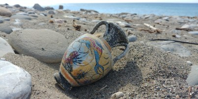 Mínojská keramika 12 - 13 cm