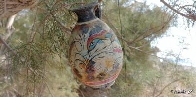 Mínojská keramika 15 cm