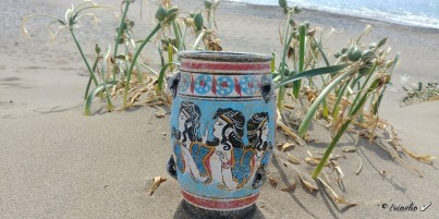 Mínojská keramika 22 cm
