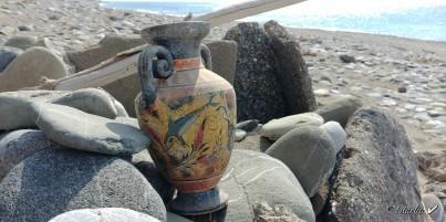 Mínojská keramika 25 cm