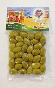 Řecké olivy zelené 250 g