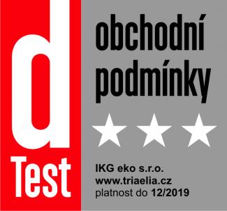 dTest obchodní podmínky 2019 www.triaela.cz