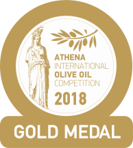 Olivový olej Zlatá medaile Ateny 2018