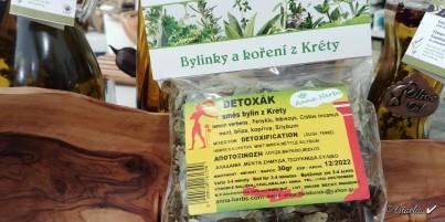 Detoxák - směs bylin z Kréty 30 g