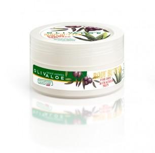 Tělové máslo suchá a poškozená pokožka 200 ml OlivAloe